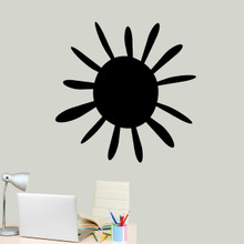 """Summer Sunshine Wall Decal 36"""" wide x 36"""" tall Sample Image"""