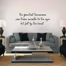 """Greatest Treasures Wall Decals 60"""" wide x 22"""" tall Sample Image"""