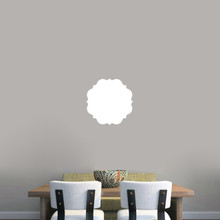"""Dry Erase Badge Wall Decals 12"""" wide x 12"""" tall Sample Image"""