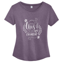 Vintage Iris Perhaps This Is The Moment Women's Relaxed Fit T-Shirt