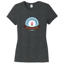 Black Frost Custom Artwork Women's Fitted T-Shirt
