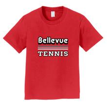 2018 Bellevue Tennis Basic Unisex Youth T-Shirt