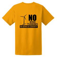 Seneca Anti Wind Union Basic Unisex T-Shirt Back