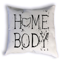 Ohio Homebody Pillow Sample Image