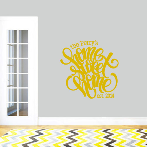Personalized Wall Decals   Sweetums Wall Decals