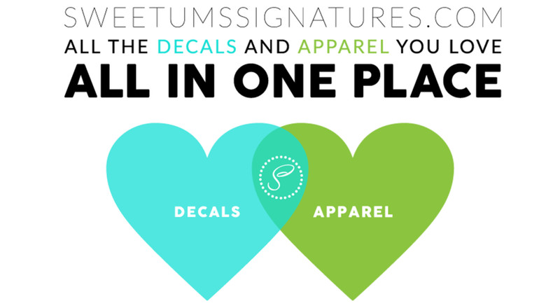 The Decals and Apparel you love… Together!