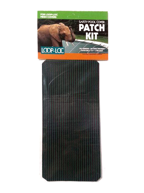94209 - Genuine Loop-Loc Patch Kit to Repair Loop-Loc Mesh Covers Standard Green