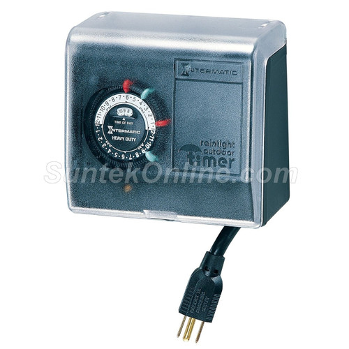 Portable Pool U0026 Spa Timer For Indoor U0026 Outdoor Use Control For: Filter  Pumps Fountains