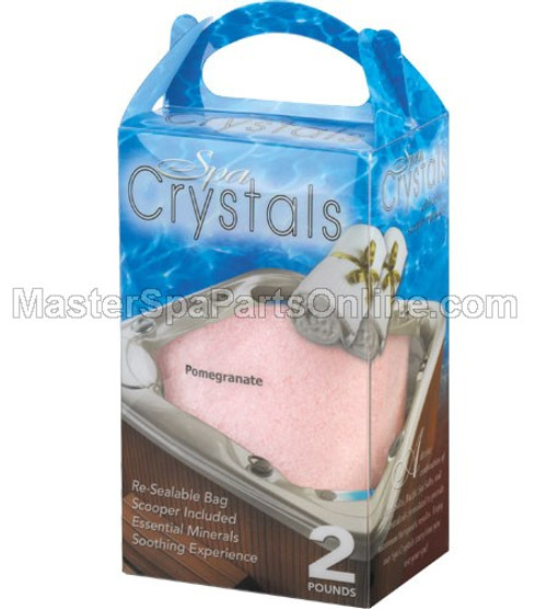 Cover Valet Pomegranate Spa Crystals 2 lb