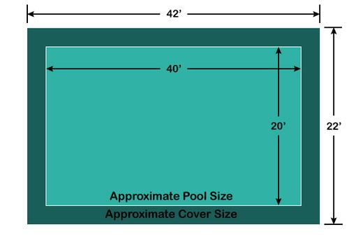 Loop-Loc Pool Cover Diagram