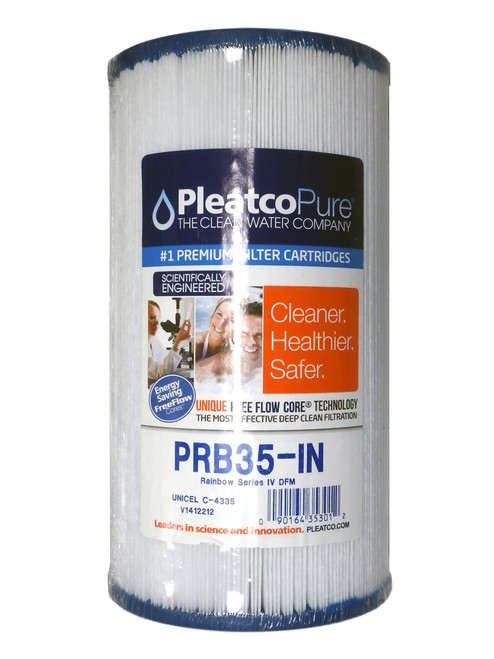 Master Spa - X268300 - PRB35-IN Filter Element 35 Sq. Ft. Filter - Side View with Packaging
