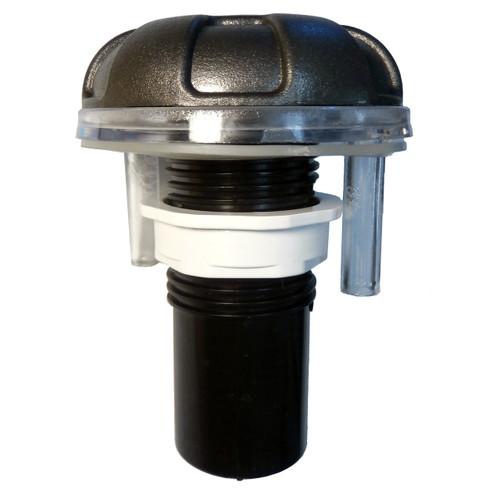 Master Spa - X232595 - LED Lit 6 Spoke Air Control - Side View