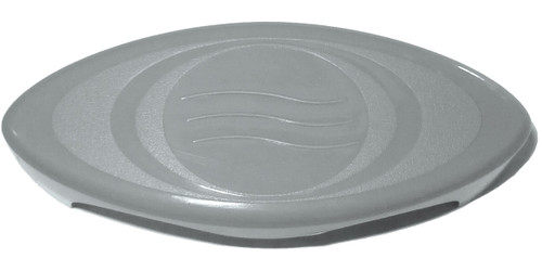 Master Spa - X245366 - 1 inch T Grey Diverter Handle 2005-2007 (for 1 inch Inside Diameter Plumbing) - Front View