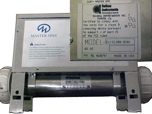 Master Spa - X300040 - Balboa Equipment MS1000 System Control Pack