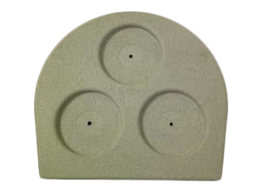 Master Spa - X261540 - Half Moon Filter Lid - Front View