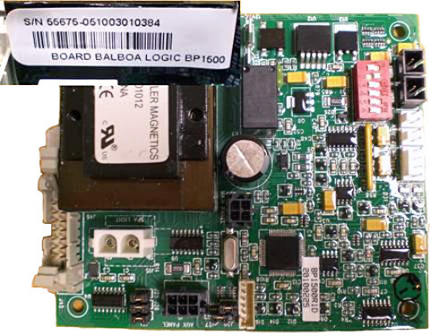 Master Spa - X801142 - Balboa Equipment MSWIM15 Logic Board (Refer to X300794) (X801142)