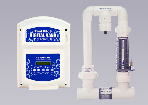 AutoPilot Pool Pilot Digital Nano + Complete System Kit - 120/220 Volt