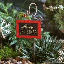 Merry Christmas Garden Sign