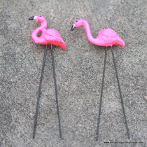 Retro Pink Flamingos
