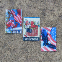 Patriotic Garden Flags