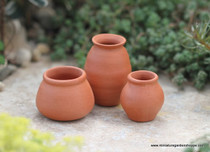 Terra Cotta Pottery Set