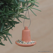 Terra Cotta Bird Feeder