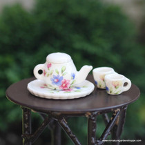 Floral Tea Pot Set