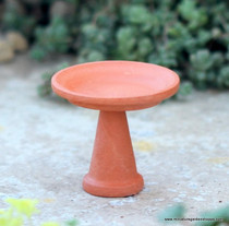Little Terra Cotta Birdbath