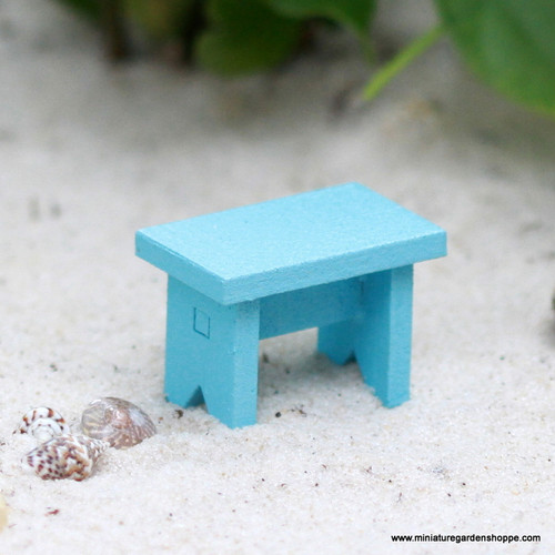 Little Blue Bench