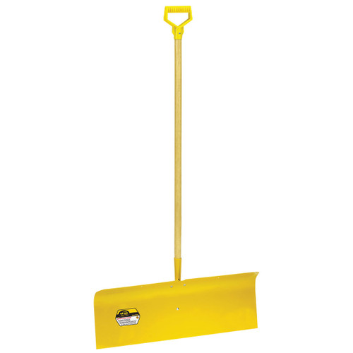 """30"""" Spring Steel Snow Pusher with D-grip"""
