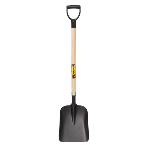 "Steel General Purpose Shovel, 40"" handle, poly D"