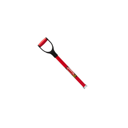"""30"""" Replacement Fiberglass Handle/Poly D for scoops"""