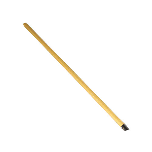 "48"" Replacement Hardwood Handle, threaded, for leaf rakes"