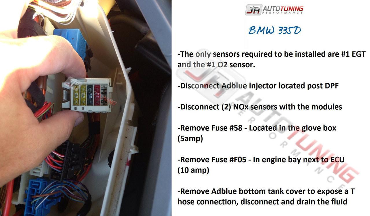 BMW 335D and X5 35D - Hybrid Turbo Kit - JR AutoTuning Performance - Instructions