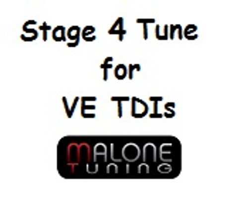 Malone Stage 4 Tune for VE TDIs