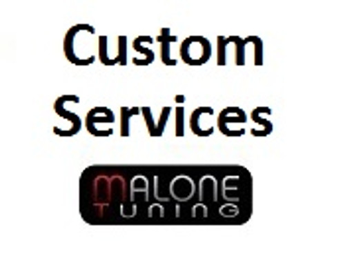 Malone Tuning - Various Services