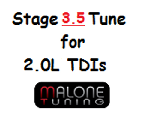 Malone CR TDI - Stage 3.5 Tune - Golf/Jetta/New Beetle/Passat