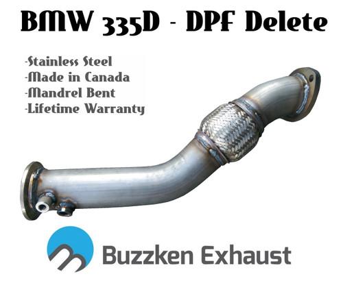 "Buzzken - BMW 335D DPF Delete Kit - 3"""
