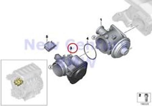 BMW 335D / X5 35D - Throttle Body - 11717804384