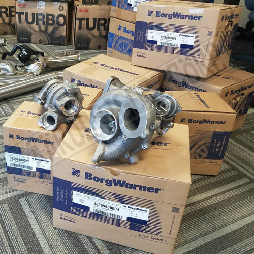 BRAND NEW - Dual turbos for BMW 335D 54399880089 + 53269880004