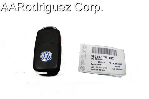 Genuine VW Badge for Key FOBs - Made from Aluminum