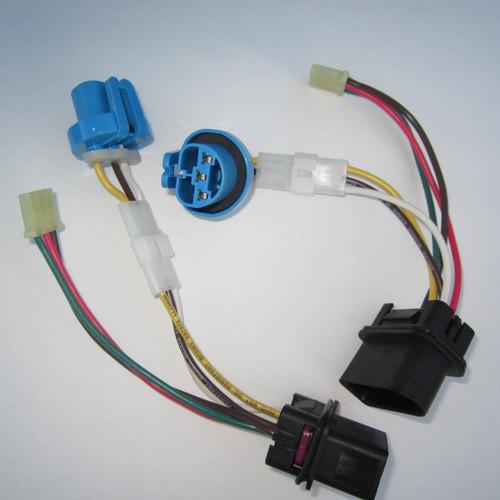(2) Brand New, Complete Jetta Headlight Wiring Harness 1999 - 2005 VW MK4 Genuine OE Parts