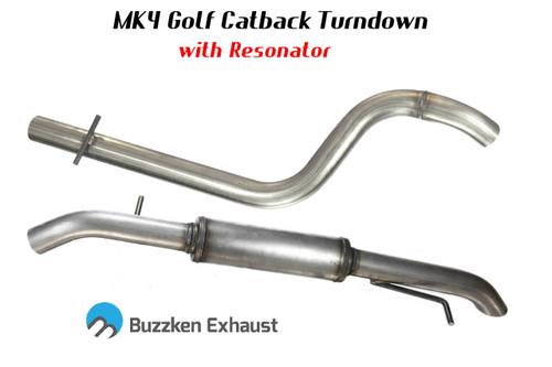 "2.5"" or 3"" MK4 TDI ""Hidden"" Catback by BuzzKen"