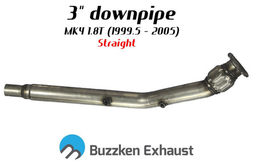 "MK4 1.8T downpipes available in 2.5"" and 3"" by BuzzKen"