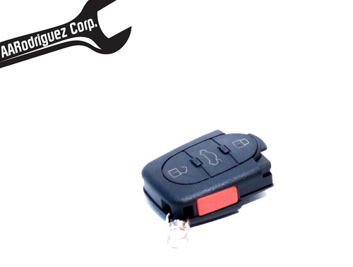 Rounded FOB key shell - Lower Half Only