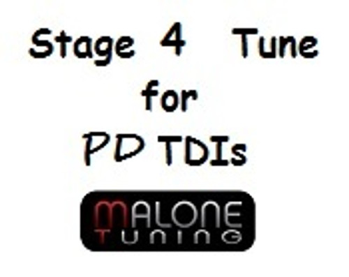 Malone Stage 4 Tune for PD TDI Engines