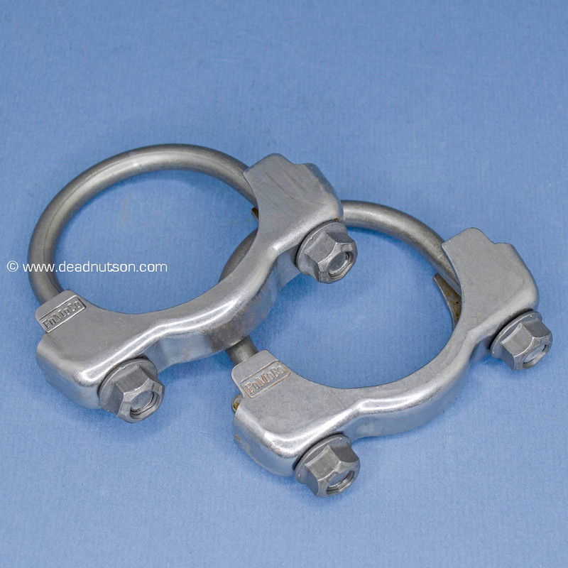 """2.25"""" Exhaust H-Pipe Clamps"""
