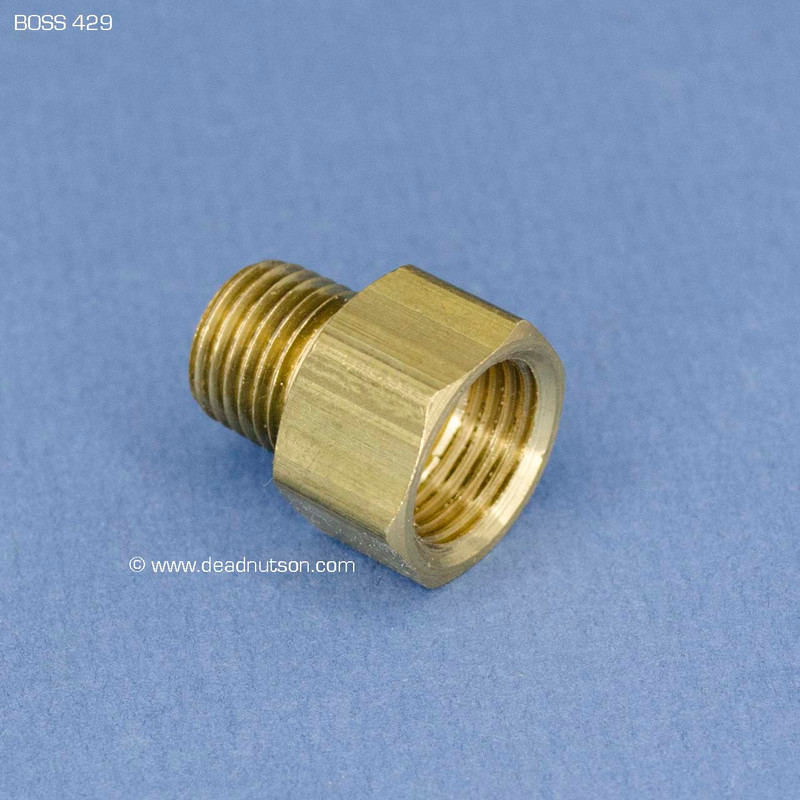 BOSS 429 Carter Fuel Pump Pressure Side Brass Fitting