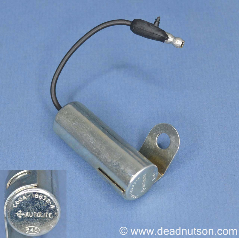 C6OA-18832-A Autolite Radio Noise Suppressor / Capacitor