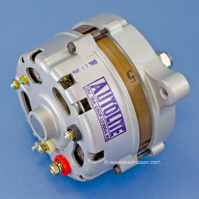 1965 200, 289 +PS or -PS Autolite Alternator C5DF-10300-A